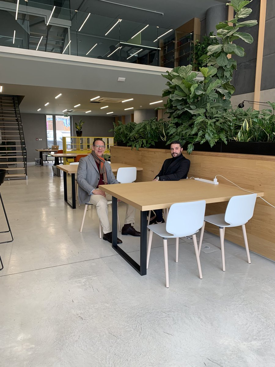 Thank you @antwork's #sales and #operations manager Konstantinos Konstantinou for the tour. Happy to have such beautiful #coworking #spaces in the #heart of our town #Limassol! #MVirardi https://t.co/jv3WCA7TIi