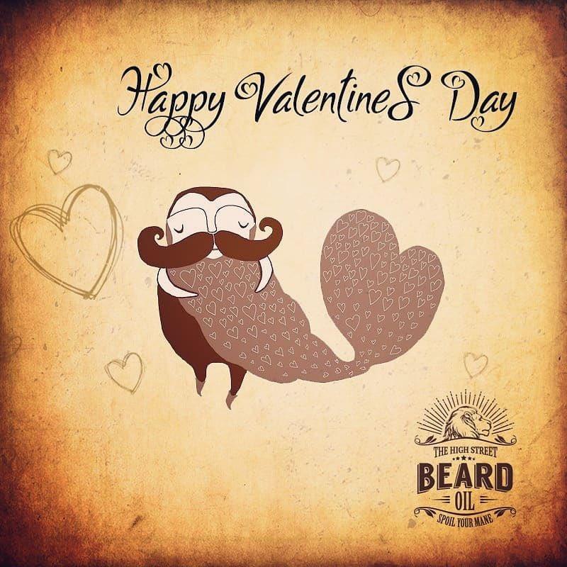 Happy Valentines Day & stay beardiful! #Valentines #LoveBeards #Pogonophiles #BeardsAreSexy #TheHighStreetBeardOilpic.twitter.com/awU6M1B7SP