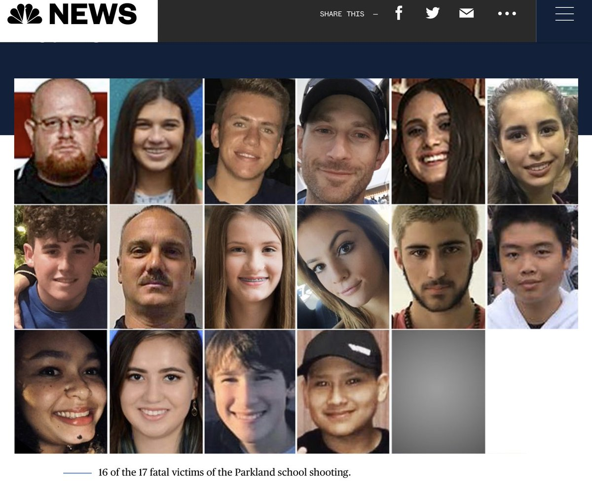 Today marks another sad anniversary for the loved ones of those killed in Parkland. Another year since a más shooting with no federal action taken. Losing a loved one, especially a child is sad every day, but specially on days like this. Please keep them in your thoughts.