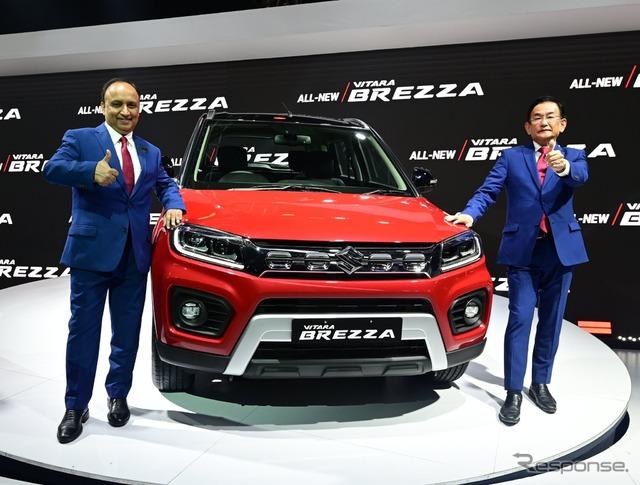 スズキ『ビターラ ブレッツァ』、インド最量販SUVに改良新型…デリーモーターショー2020 response.jp/article/2020/0… #スズキ #SUZUKI