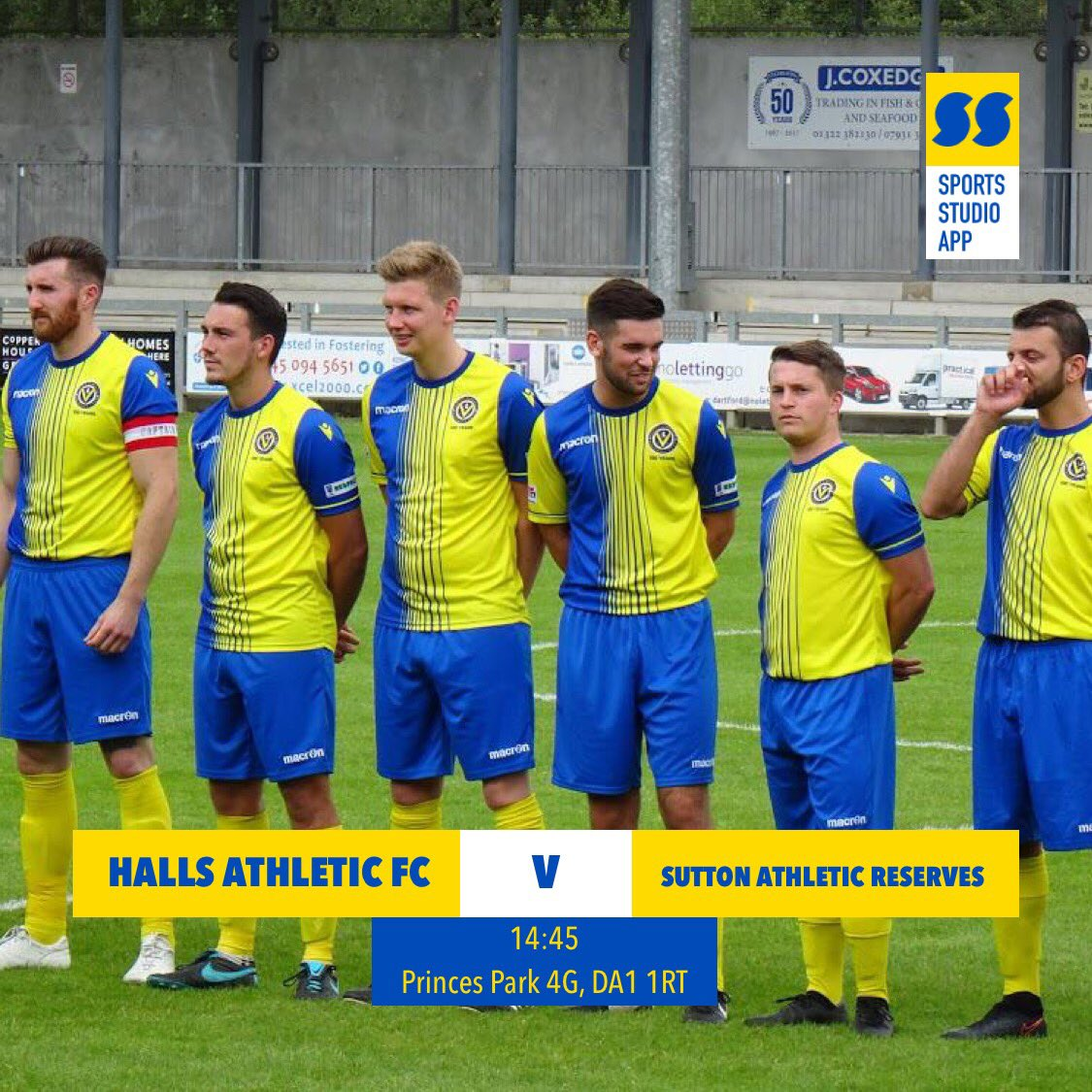 test Twitter Media - First Team host local rivals @Sutton_Athletic Reserves in a quick turn around after playing them last Saturday. Boys are on a excellent run of results and looking to add another tomorrow! 💛💙💛💙 #HAFC #100thseason https://t.co/cBYoOgsvDy