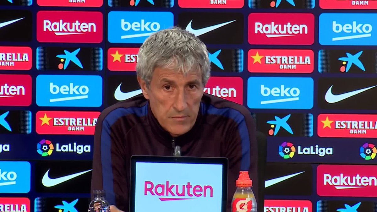 🗣 @QSetien on whether 3rd place Getafe can hang tough at the top of the standings with perennial contenders Barça and Real Madrid ...