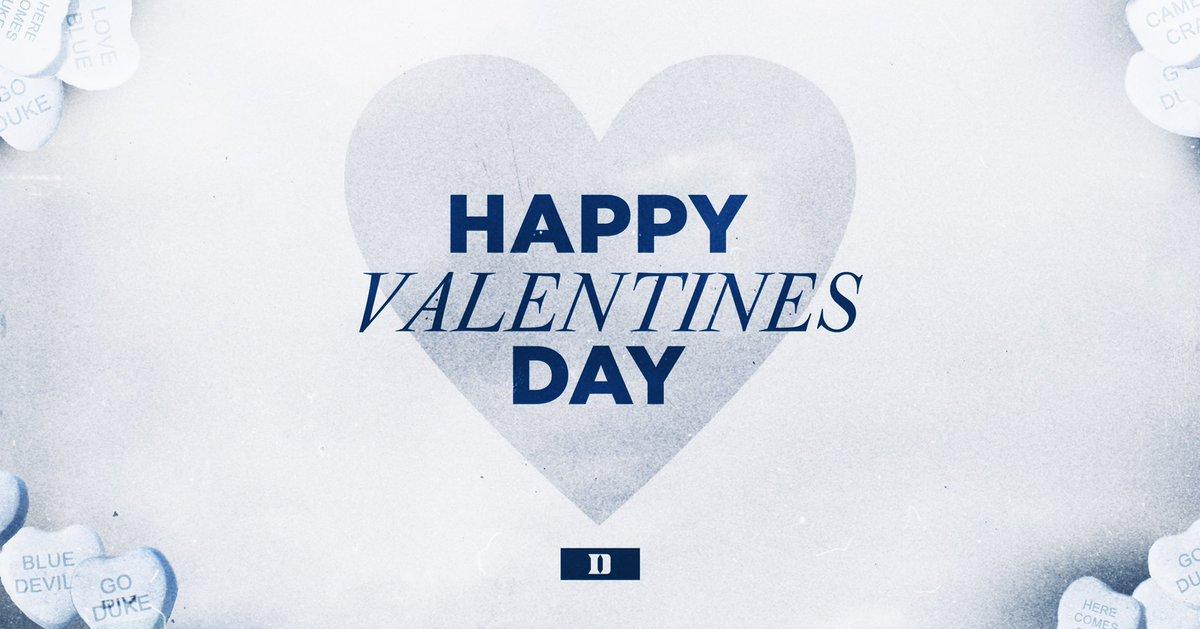 Replying to @DukeATHLETICS: Happy Valentine's Day 💙