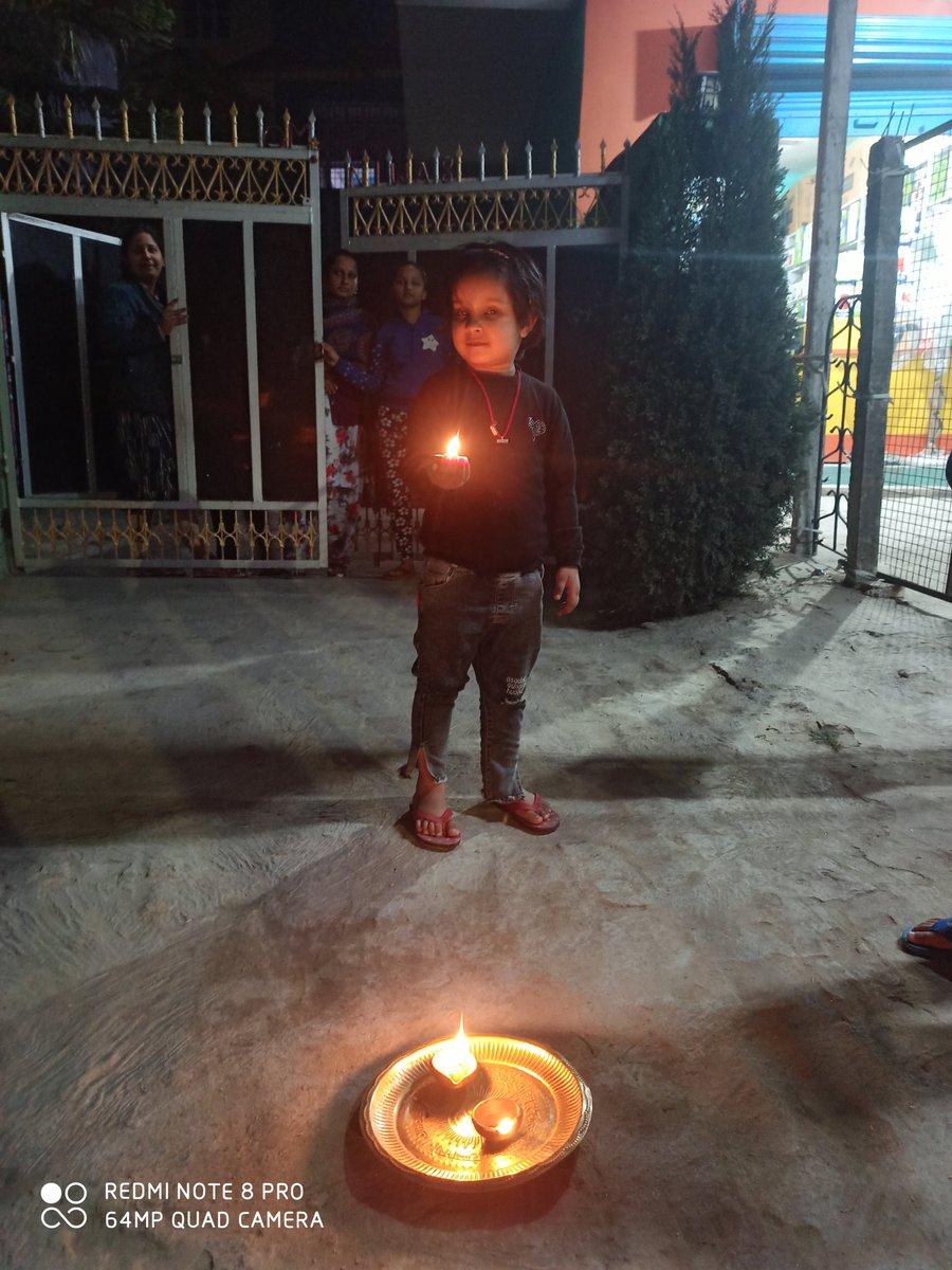 बच्चों ने दीप जलाकर मनाया पूर्णिया दिवस....@rahulias6 @PurneaTimes
