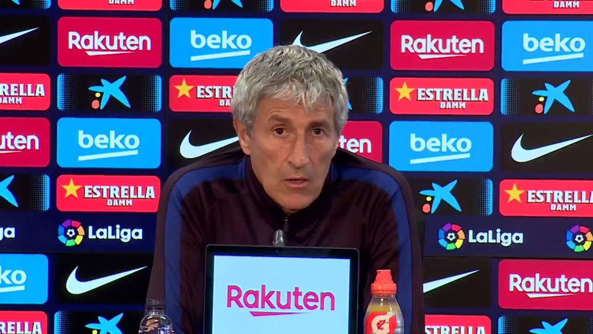 🗣 @QSetien talks about whether he needs to rest Leo #Messi ...