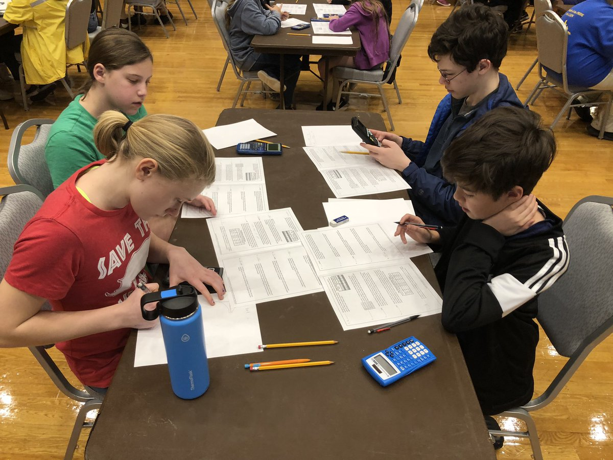 Congratulations to the TDS MathCounts team on their 6th place finish at UNC yesterday.