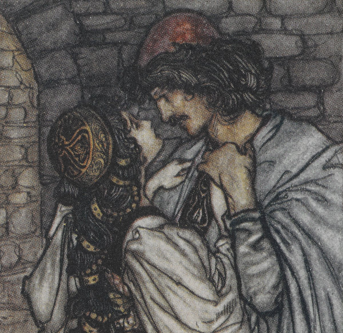 Romeo and Juliet, wildly in love, but were they really well-matched?   Which famous figures from literature would you pair up and why?   Img: Shelfmark 11765.s.5 (cropped)