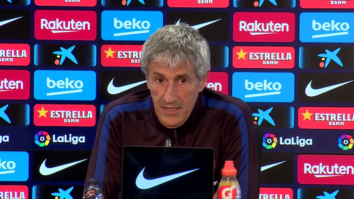 🏟 @QSetien talks about how important it is for the fans to fill up Camp Nou ...