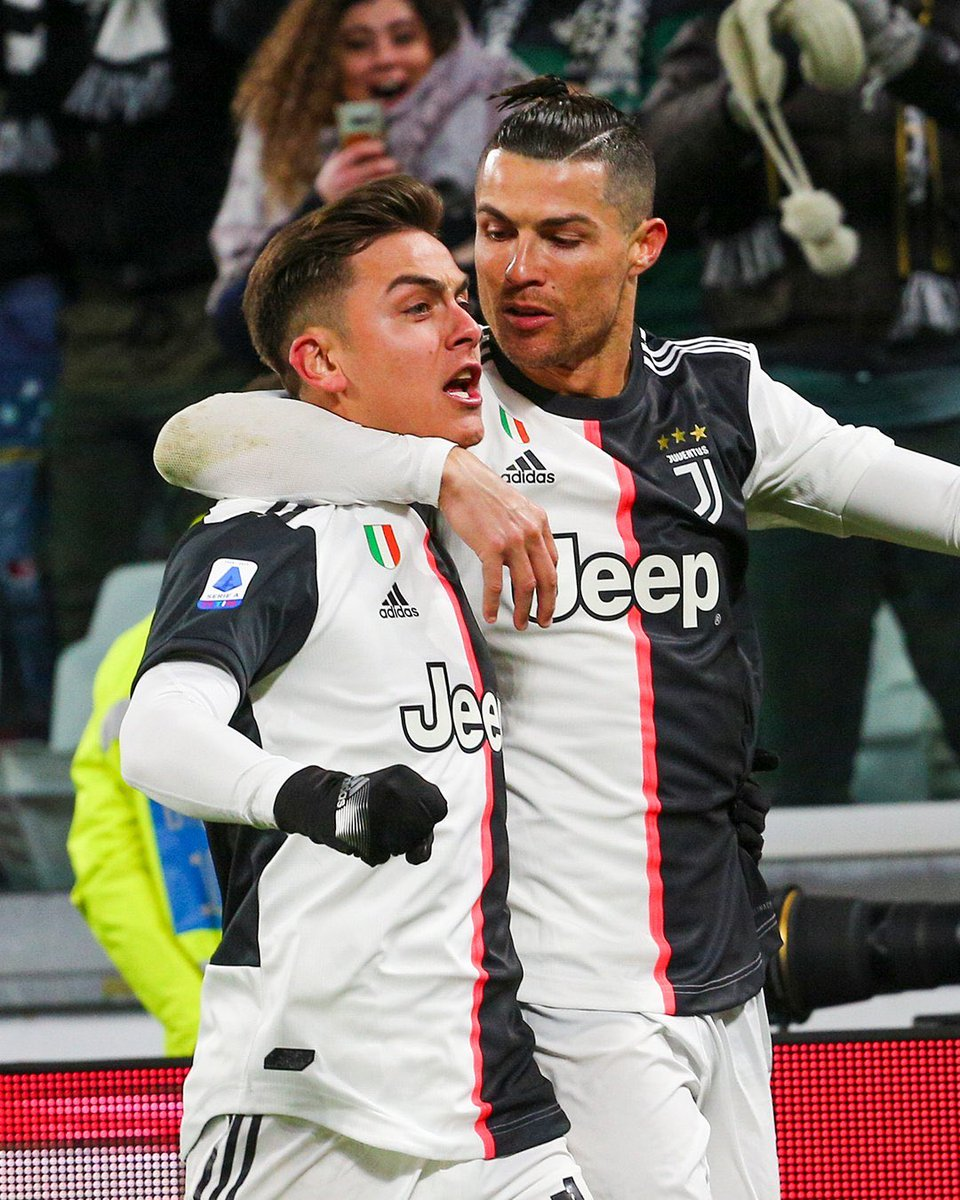 I just want someone to look at me the way Ronaldo looks at Dybala