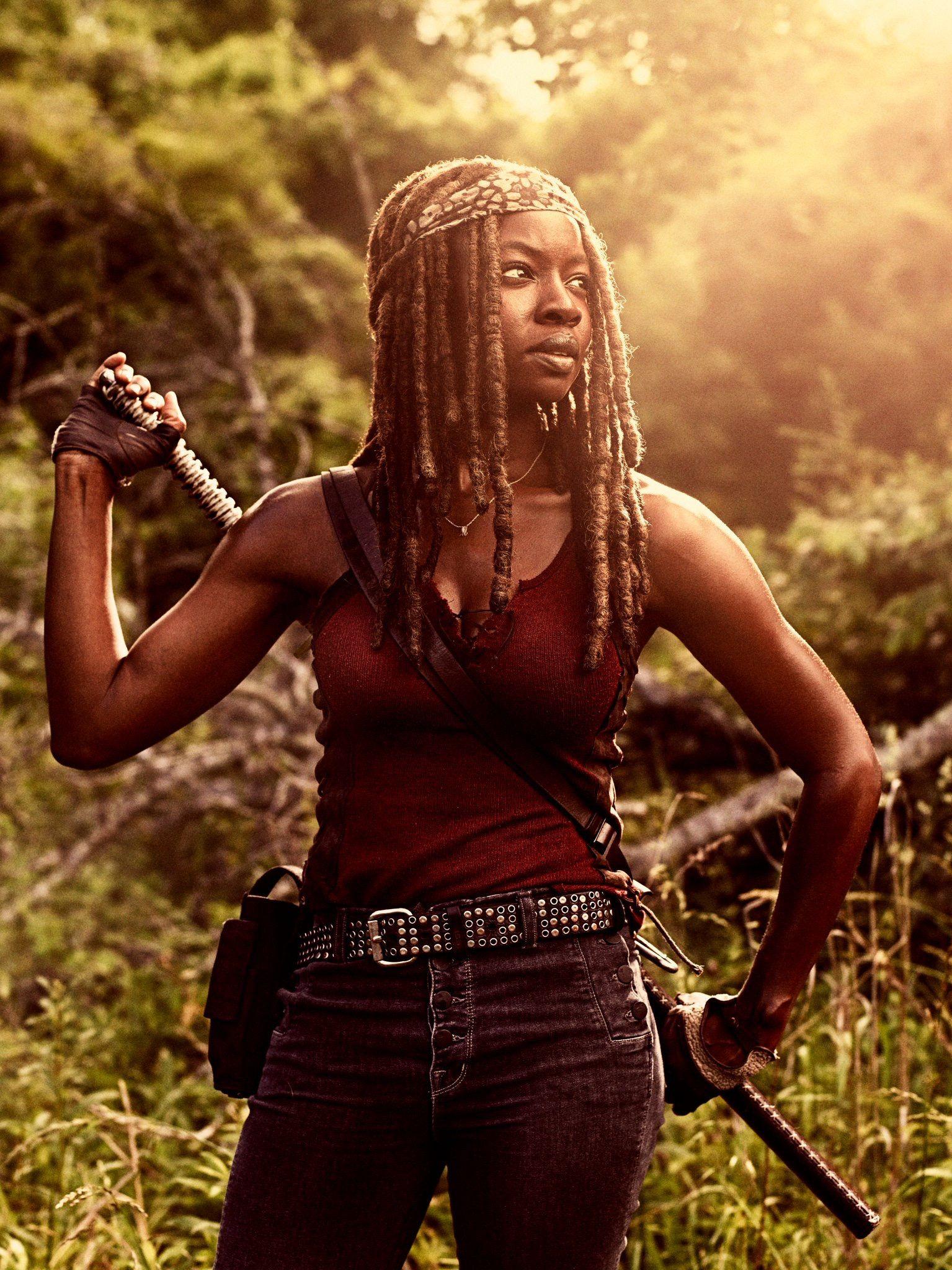 Happy Birthday! Danai Gurira aka Michonne from the walking dead.