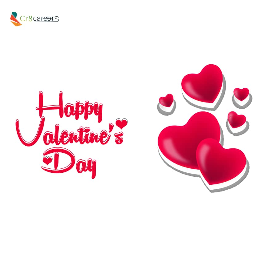 Happy Valentine's Day  |#HappyValentinesDay2020 .  Follow @Cr8Careers . #Recruitment #Outsourcing #Assessments #OccupationalInterests #HRNigeria  #ValentinesDay2020 #naijabrandchick #hustlersquare #hustlersquare_hub  #ValentinesDay #ValentineDay #Career #Developmentpic.twitter.com/Ik2WgPLKsd