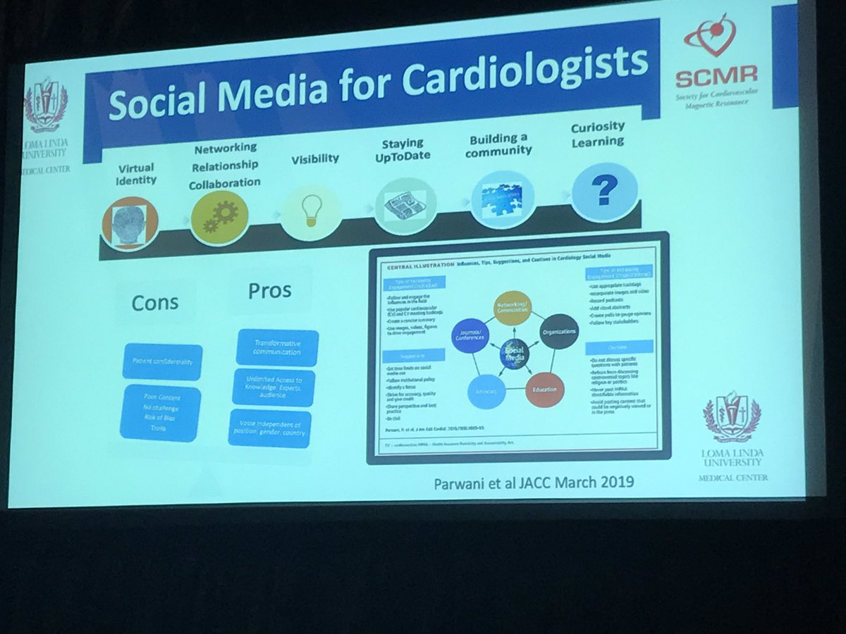 #SoMe 101 from the queen of #cardiotwitter at #scmr2020.... doesn't get any better @purviparwani