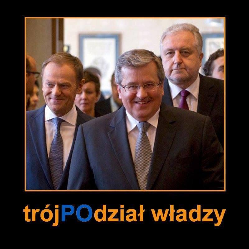 #Tusk, #Komorowski, #Rzepliński.. Wtedy to był modelowy trójpodział władzy...
