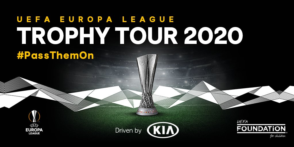 NEWS | The UEFA @EuropaLeague Trophy Tour Driven by Kia is back in 2020. Visit one of the tour locations or your nearest Kia dealership and you can donate your old football boots to refugees! #PassThemOn #UEL #Kia  Read More Here: ➡️ https://bit.ly/2HoRruI