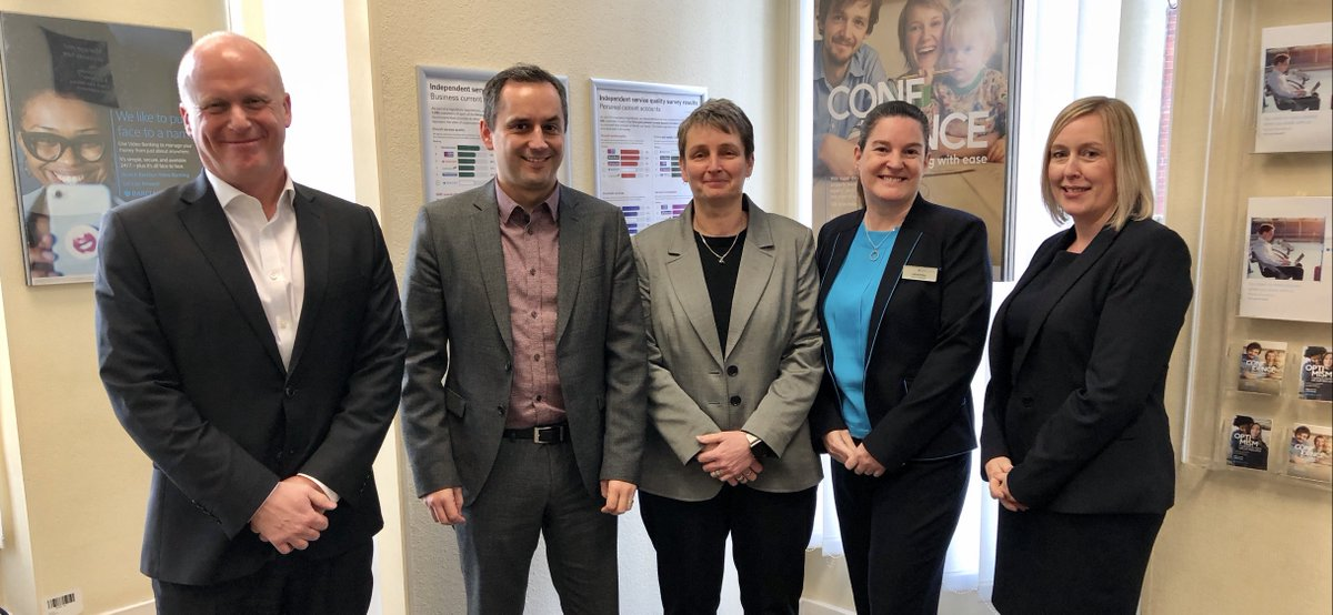 Good to meet @KateOsborneMP @Barclays #Jarrow to talk about support for local business, @YourLifeSkills and #DigitalInclusion #BackingtheUK #NorthernPowerhouse