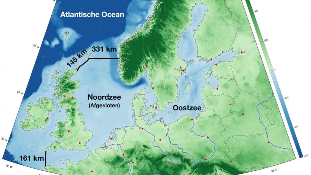 Dutch proposal to dam the North Sea to protect Europe from sea level rise. Apparently it's technically feasible for €500Bn. Sounds like an insane bit of geoengineering to me though?! Source: https://t.co/WASU01Lfjt https://t.co/pyfI9ebuHa