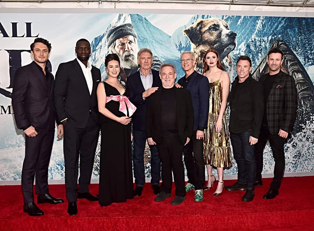 #PróximoEstreno. Harrison Ford, Omar Sy, Karen Gillan, Cara Gee disfrutaron de la Premiere Mundial de #ElLlamadoSalvaje 🐶🐾  ESTRENO 20 DE FEBRERO EN LOS CINES DE COLOMBIA
