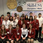 Image for the Tweet beginning: Southeast Culinary students attended @SkillsUSA