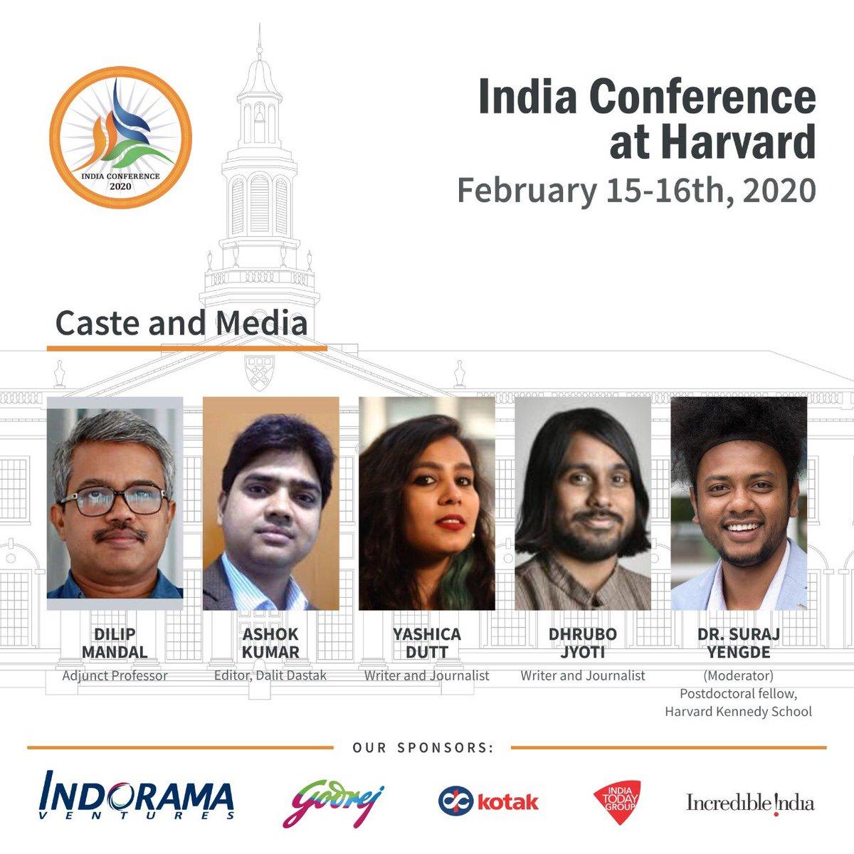 We will commemorate centenary of Ambedkar's journalism and celebrate Dalit journalism in general with @Profdilipmandal @DalitDastak @YashicaDutt @dhrubojyoti#Mooknayak100 @indiaconf2020