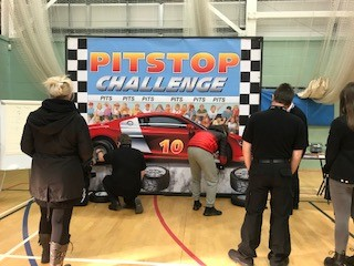 Students from @KearsleyAcademy enjoyed our #PitStopChallenge at their careers fair on Wednesday. Interested in studying motor vehicle? Come along to our Open Event. More info https://t.co/zW8GKX1wcq #Salford #College #Manchester https://t.co/M99huBja2D