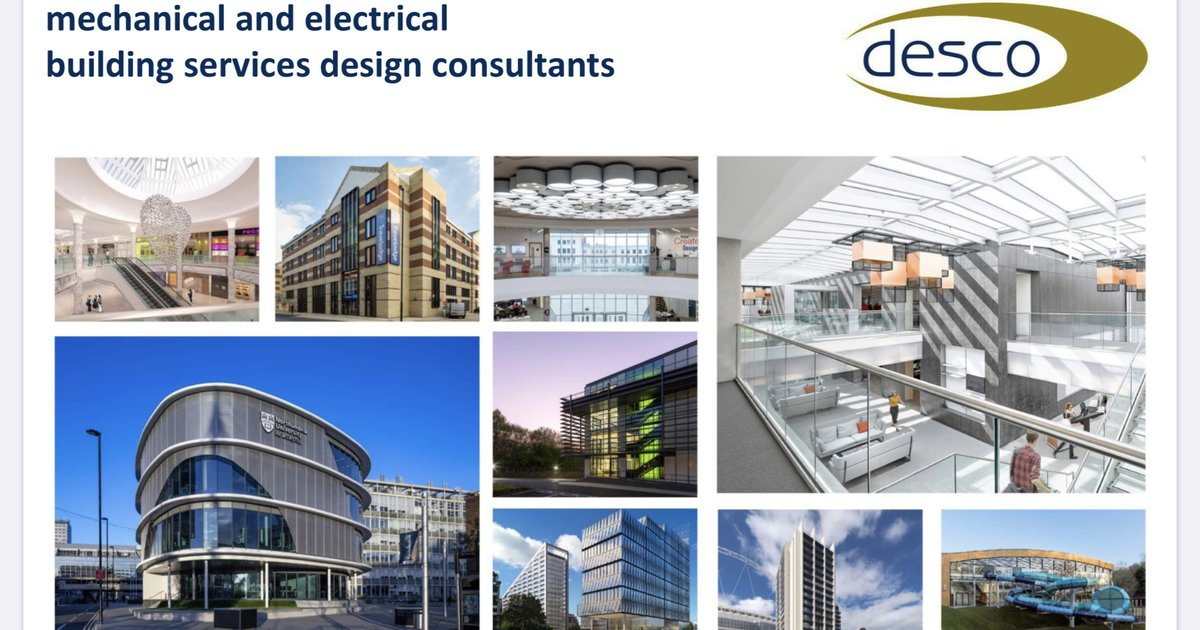 The award-winning @Desco_MEP  are now on MGH. Desco are looking for a Senior Mechanical Engineer.  Sign up to MGH to speak directly to the decision-makers...https://lnkd.in/g-bzWRV   #engineeringcareers #mechanicalengineer #constructionjobspic.twitter.com/scDDiHQlu0
