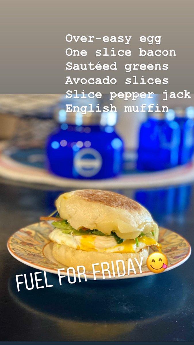 #delish #breakfast #fridayfuel pic.twitter.com/pmgYon1Uuu