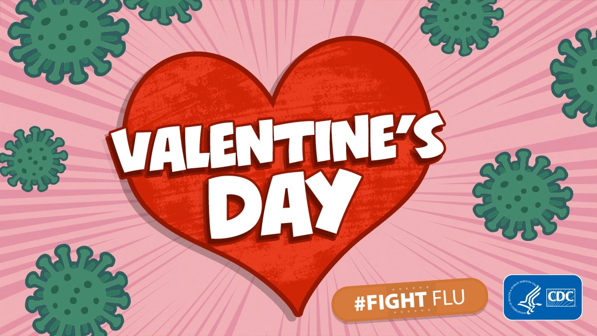 This #ValentinesDay, give your someone special the gift of #flu protection and get vaccinated. #FridayFeeling