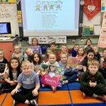 Image for the Tweet beginning: Mrs.Hlad's kindergarten students loved reading