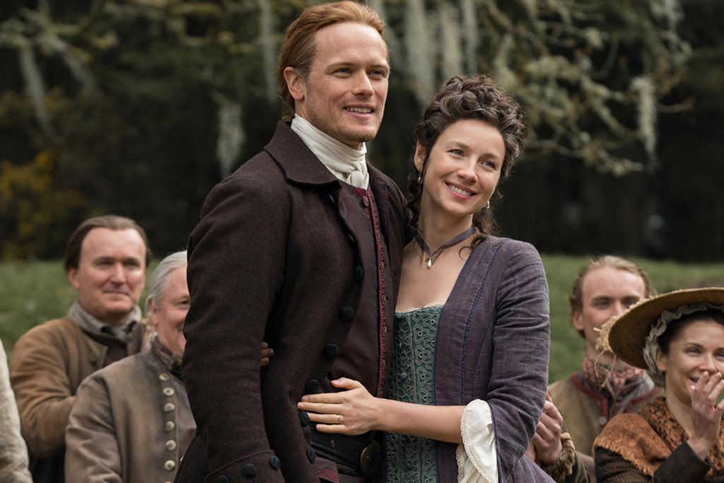 """""""Lord, ye gave me a rare woman, and God! I loved her well.""""   Happy #ValentinesDay Sassenachs.  #Outlander"""
