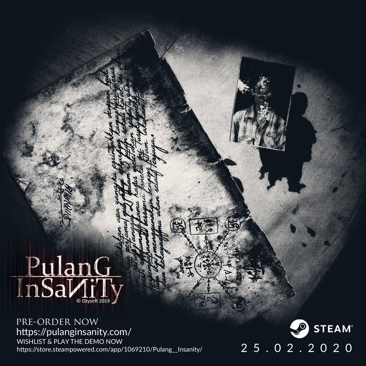 WISHLIST & PLAY THE DEMO NOW https://store.steampowered.com/app/1069210/Pulang__Insanity/ …  Website : http://pulanginsanity.com/   #EnterInsanity #ComingSoon #Games #Steam #Indonesia #horror #SurvivalHorror #PsychologicalHorror #pulanginsanity #NewDemoUpdatepic.twitter.com/tnCHEWfC45