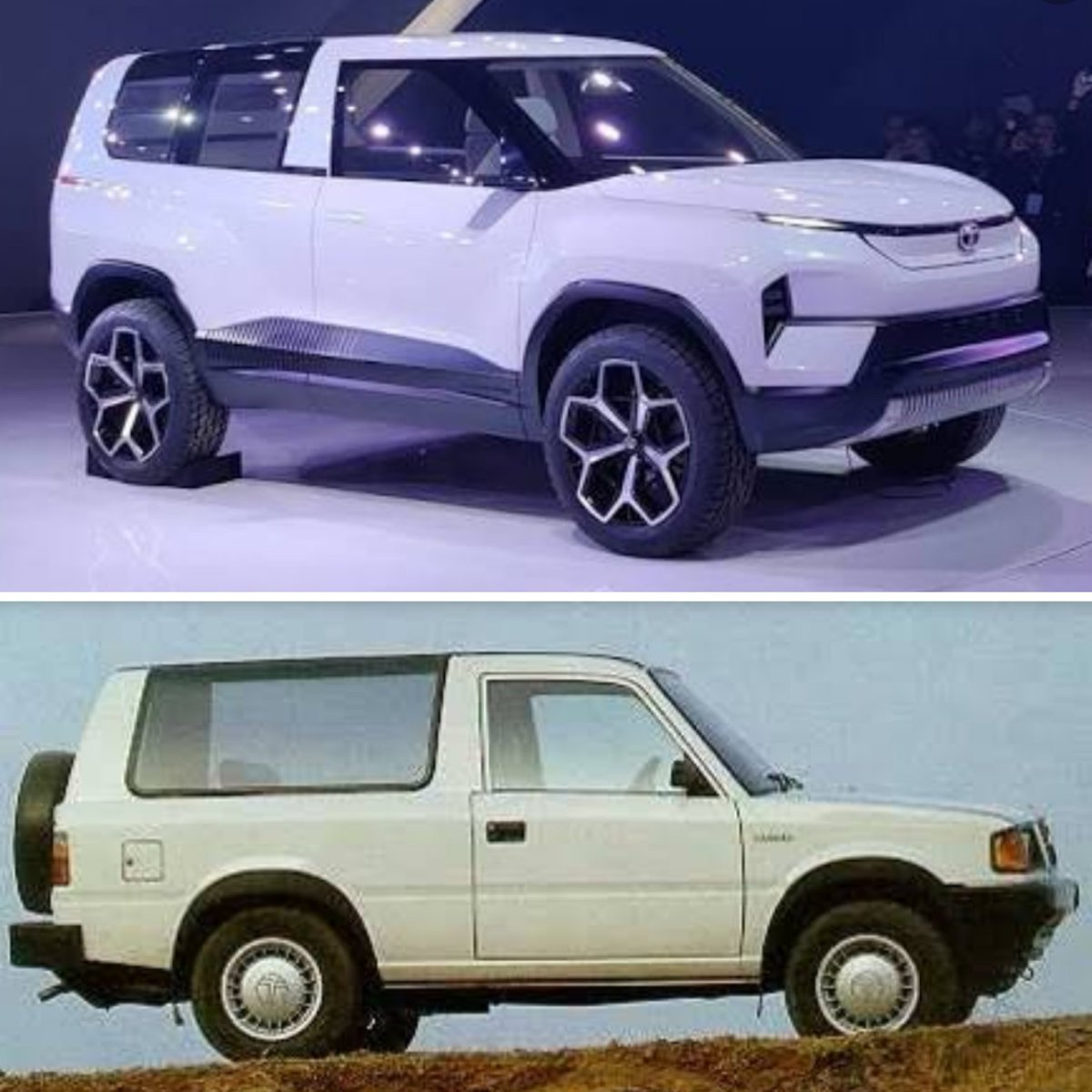 @BosePratap @TataMotors@TatamotorsEVI wish, my dream will come true.I request, I hope, I feel #Tatamotors will bring concept #TataSierra into REALITY...@BosePratap shall I dream of having both in my collection...?