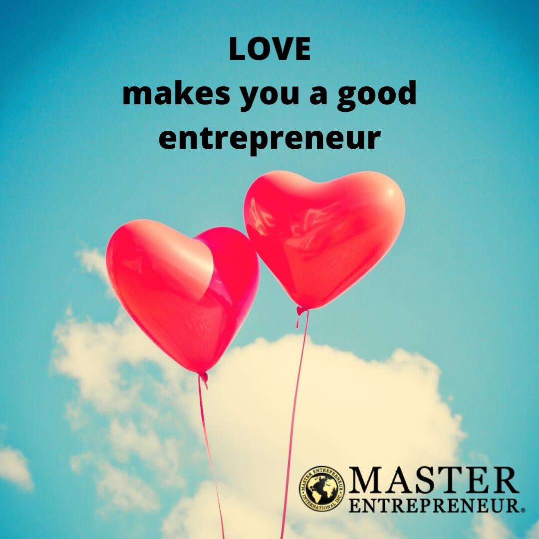 As an #entrepreneur, you must love what you do, love serving your #customers, love working with your #staff, love making your product or delivering your service and most importantly, love yourself.    Happy Valentine's Day  #businessowners #entrepreneurship #business https://t.co/nnxka8dv4L