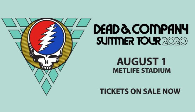 Tickets are on sale NOW for @deadandcompany at MetLife Stadium on Saturday, August 1⚡️💀 🎟 Get your tickets at bit.ly/MetLifeDeadand…