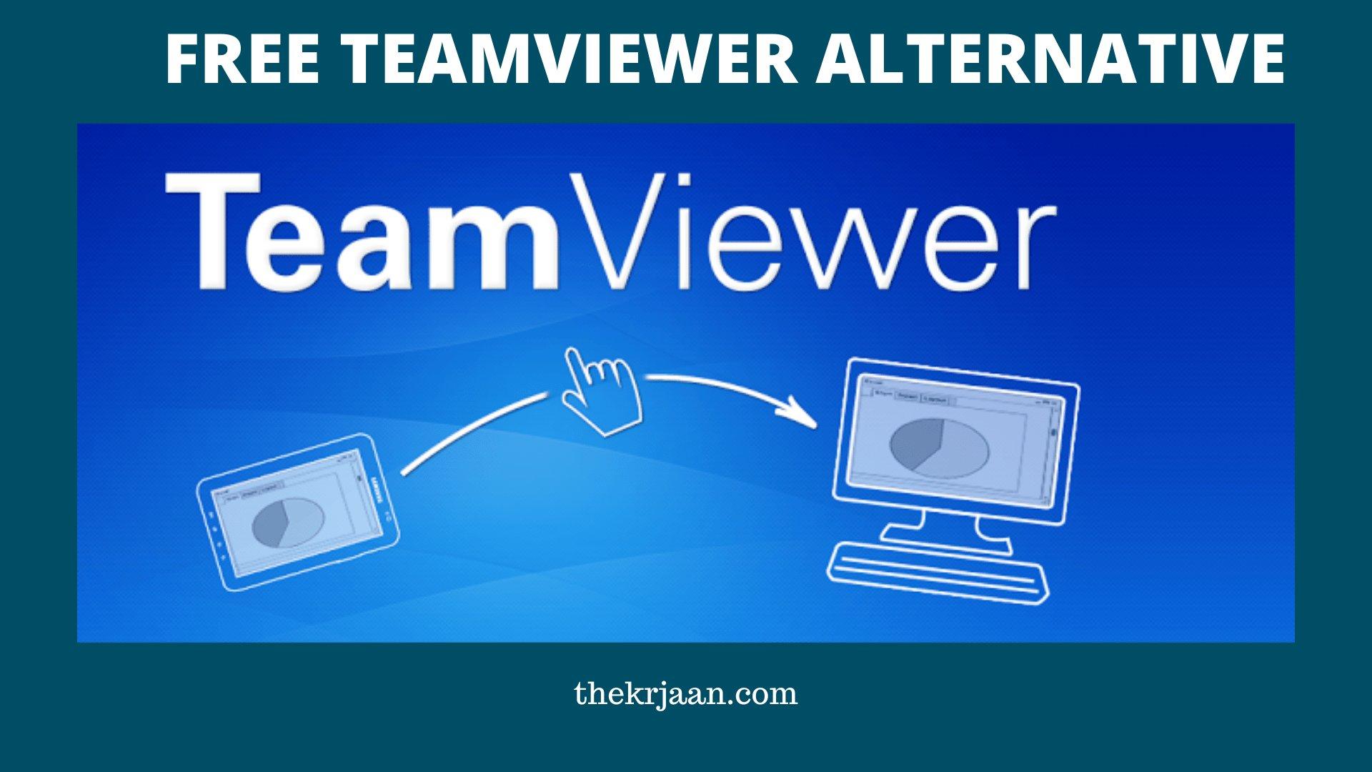 Free Teamviewer Alternatives in 2020