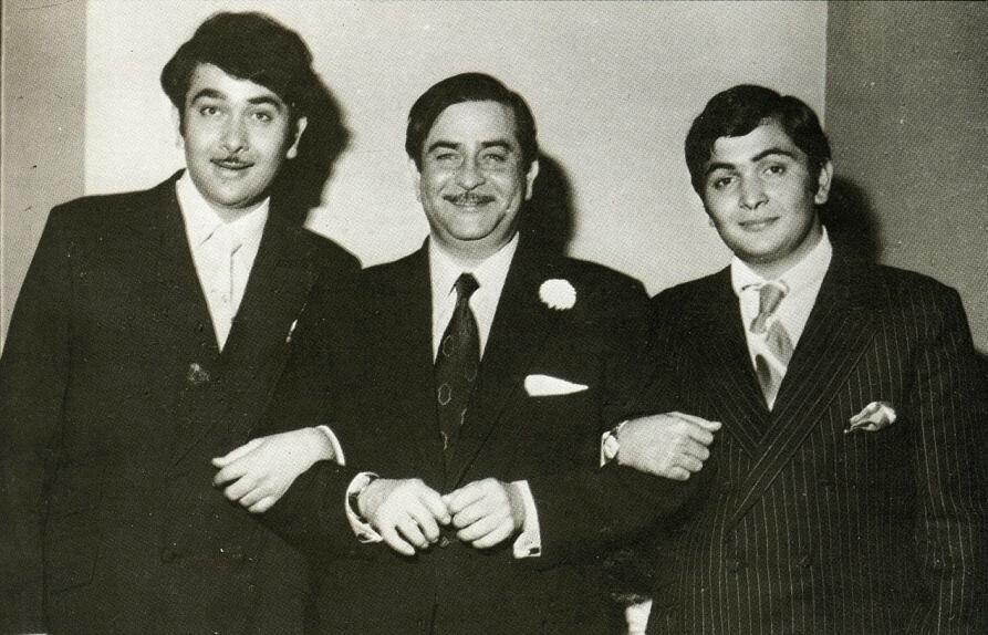 фото три сына раджа капура змей раз неделю