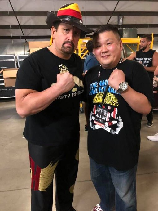 Happy Birthday my friend Mr Tommy Dreamer
