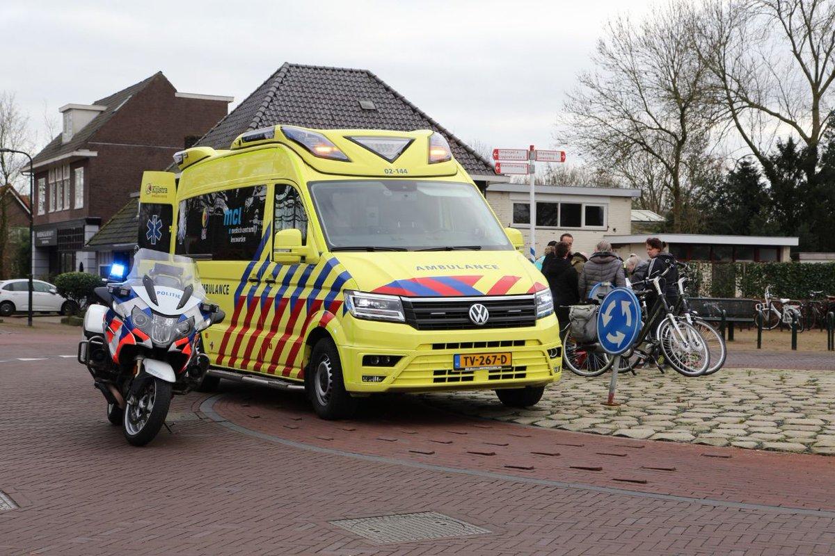 Fietser gewond bij ongeval op de Badweg in Gorredijk -.