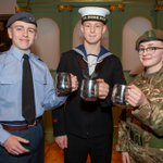 Image for the Tweet beginning: York #cadets Sam Bousfield, Philip