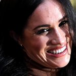 Image for the Tweet beginning: In Meghan Markle's creep towards