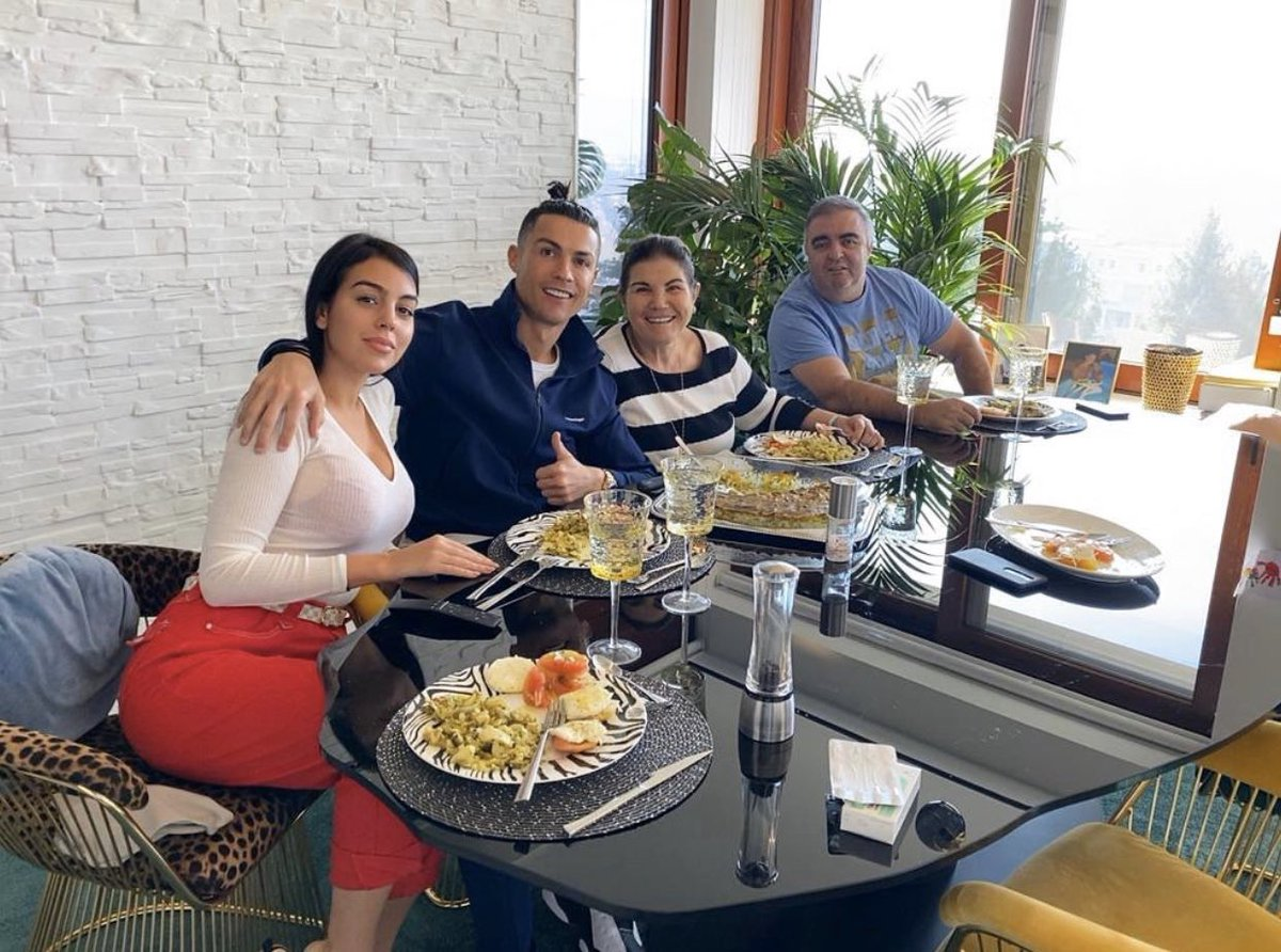 Family's lunch ❤️