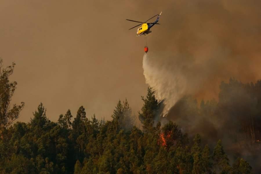 Conaf: En lo que va de temporada, se ha registrado un 5% más de incendios que el año pasado bit.ly/39AED0t