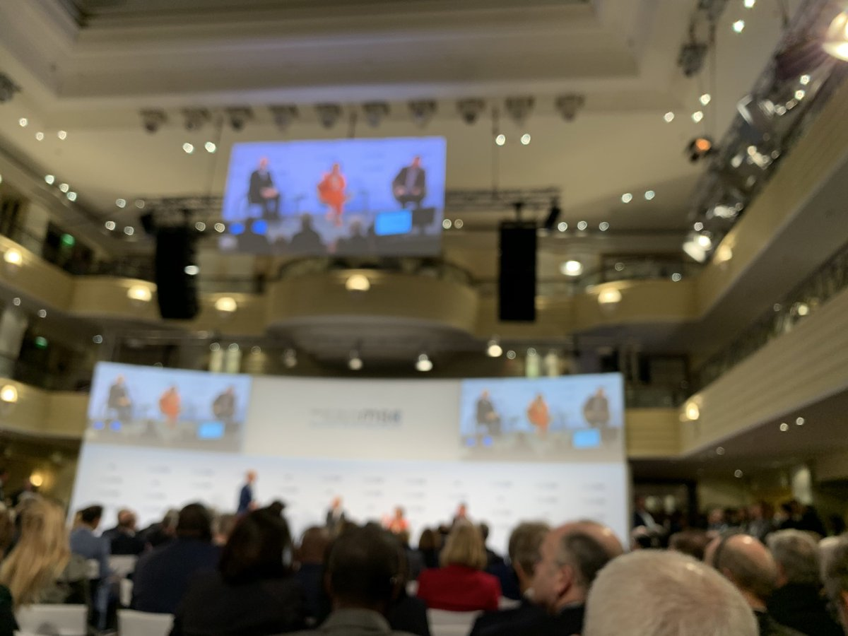 Nancy Pelosi tells Munich Security Conference that US position on Huawei is bipartisan
