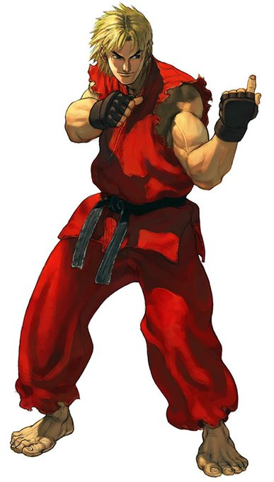 Stop what you\re doing and say happy birthday to Ken Masters and Ash Crimson