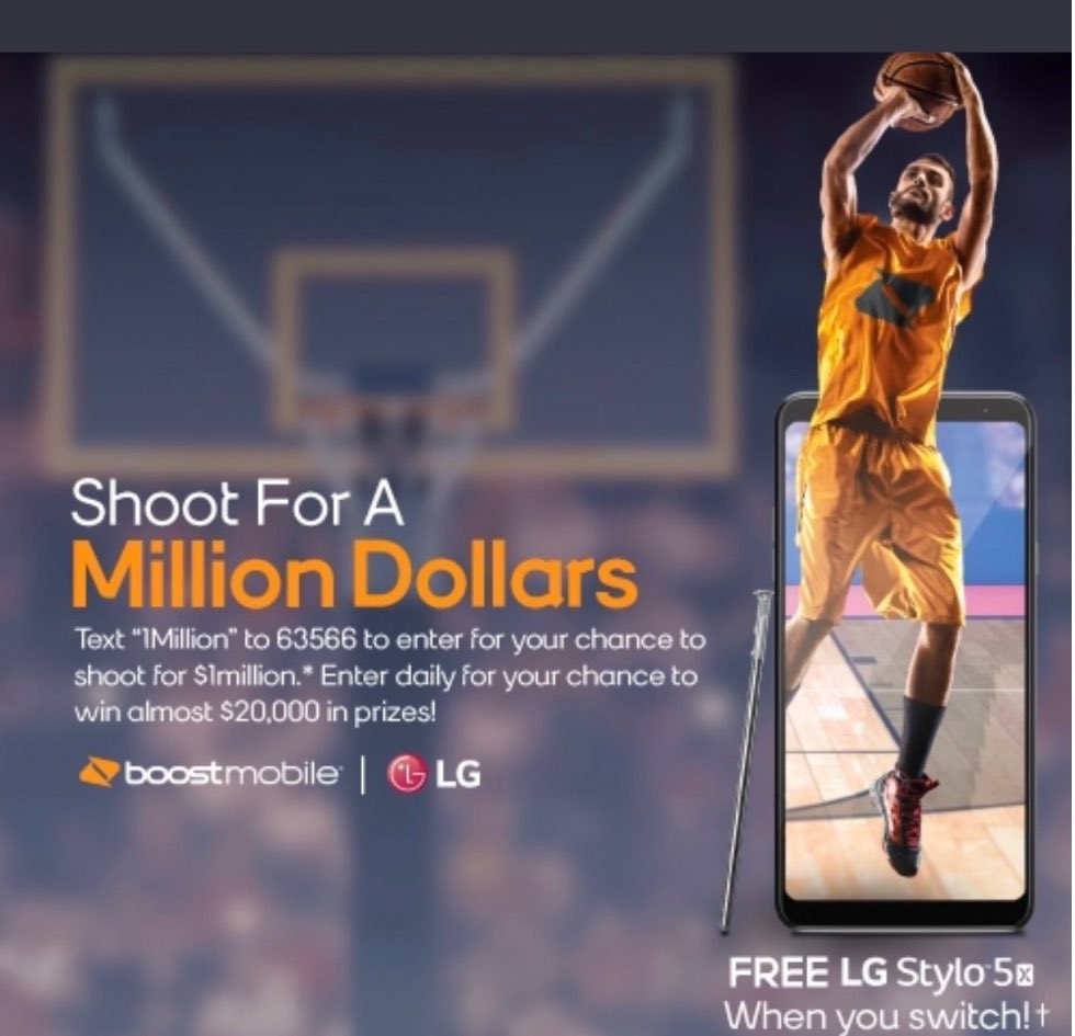 take a shot for a  #milliondollars with #boostmobile @MiddletownNY @cityofwp @cityofpok @nycgov @westchestergov @BoostMobileSean @anewton_SPG @Boost_in_HDpic.twitter.com/qBVD3aujPe