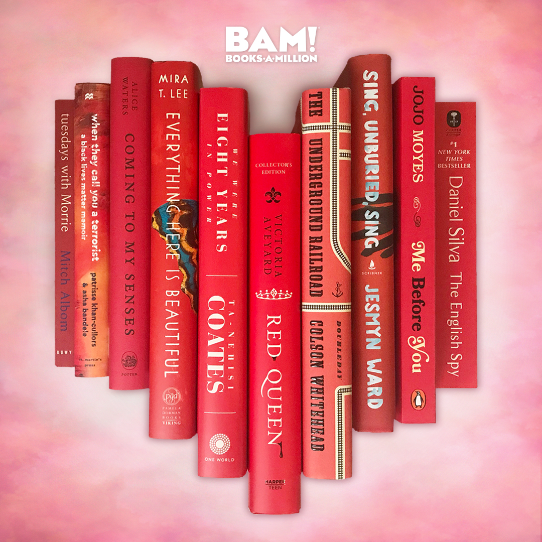 Books make the best Valentines! ❤️ Happy #ValentinesDay from your friends at BAM!