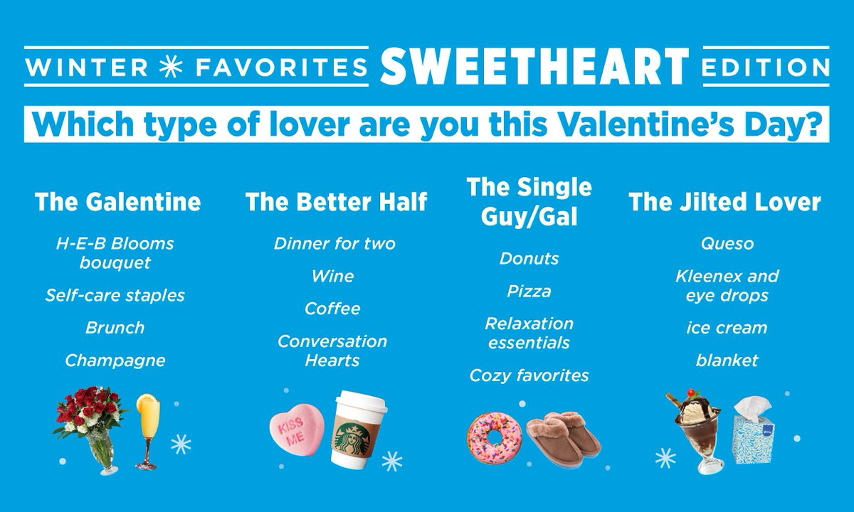 Which type of lover are you this Valentine's Day? Treat your lover (or treat yo'self!) to sweetness 👉 http://bit.ly/37q8aIQ  #Valentines2020