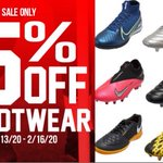 Image for the Tweet beginning: 25% Off ALL Footwear!!!! In-Store Sale