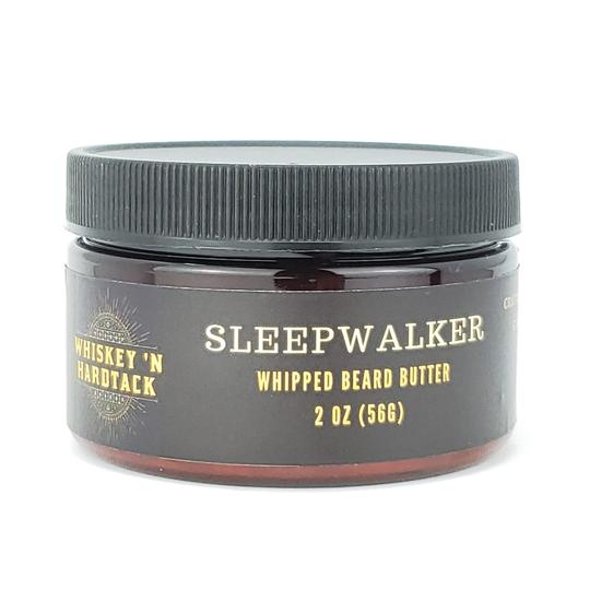 """JUST ADDED - We've added our super soothing """"Sleepwalker"""" and woody """"The Drifter"""" scents to our light and fluffy Whipped Beard Butters.  Experience what rubbing a cloud on your beard can be... Think of this as our Valentine's Day gift to you! #softbeards #chillax #beardseason pic.twitter.com/roSfM38jk5"""