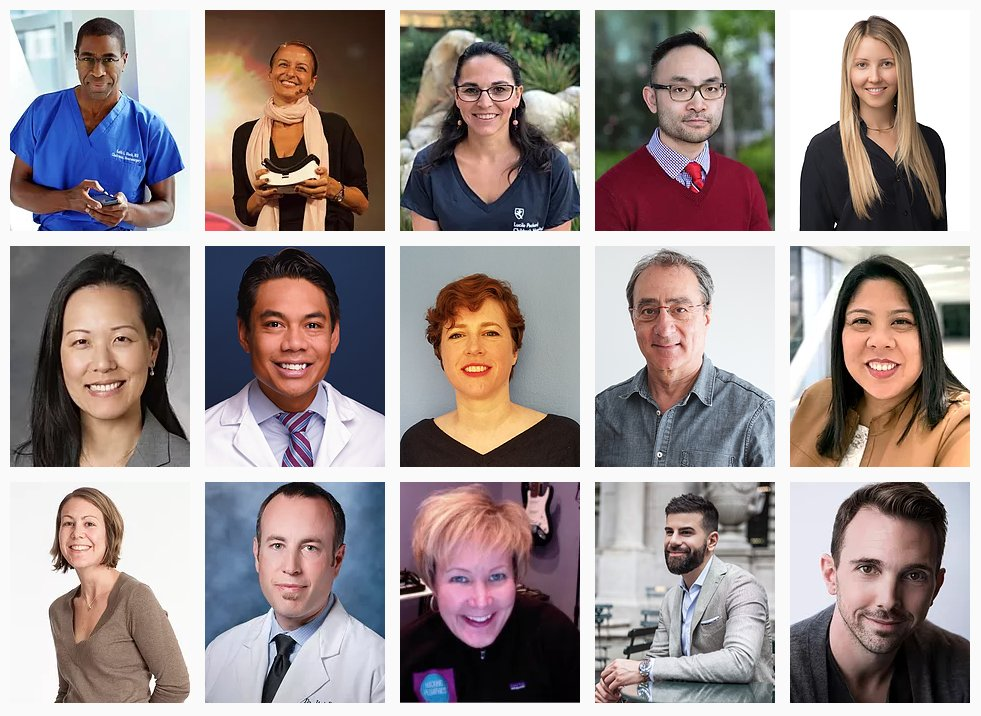 Only 5 weeks left before the healthcare #XR community reunites at #CedarsSinai for #vMed20. Join us for talks, hands-on workshops & breakouts on #VR for anxiety, depression, pain, dementia, schizophrenia, stroke, #MedEd simulations, childbirth, eating disorders, pediatrics & more