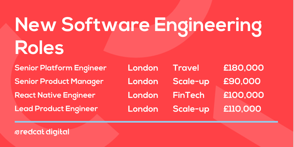 New #technologyjobs online!  From #ReactNative to #ProductEngineering and #PlatformEngineering, we're here to help you land that #dreamjob.  Start your #jobsearch here https://buff.ly/2s0HY8u   #hiring #yourdigitalfuture #londonjobs #techjobspic.twitter.com/xdYEUi74nI
